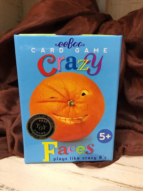 Card Game Crazy Faces