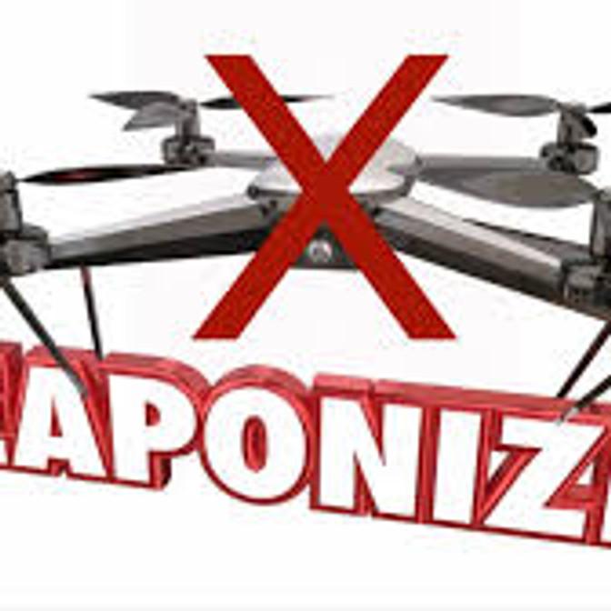 """Defund & End Weaponized Drones"" @ Hancock Drone Base  -"
