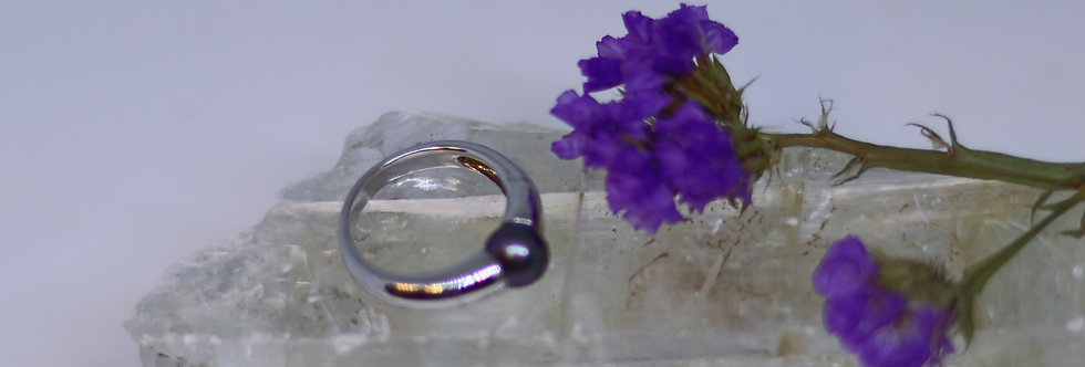 Pearl 925 Silver Ring