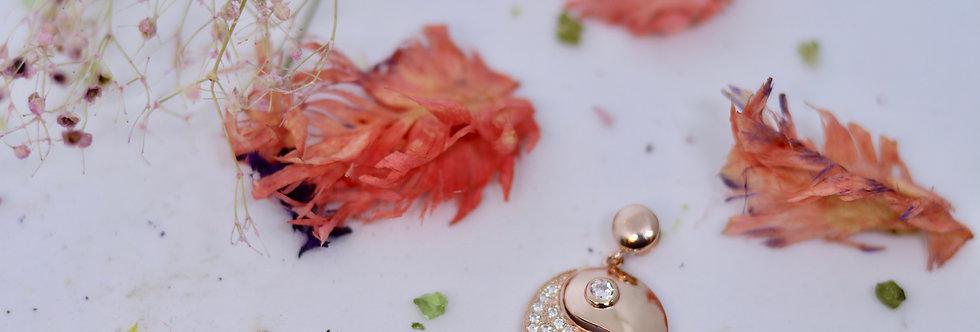 Yin Yang Copper Rose Gold