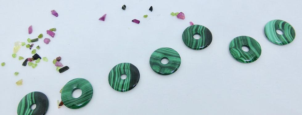 Malachite Crystal Donut 25mm