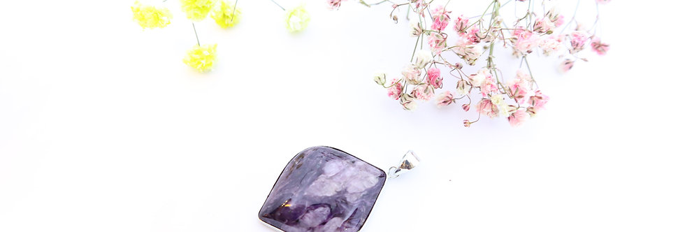 Charoite Crystal Pendant 04
