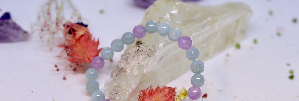 Lavender Jade Bracelet 08