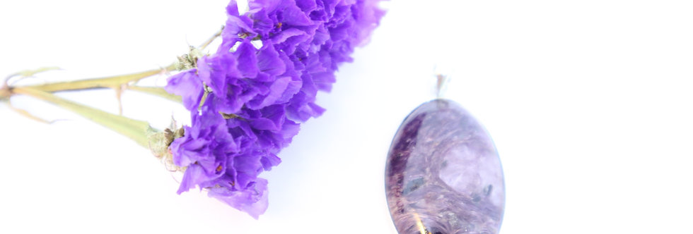 Charoite Crystal Pendant 11