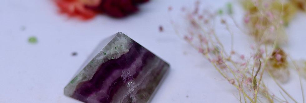 Fluorite Crystal Pyramid 01