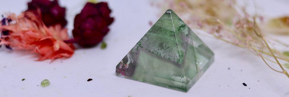 Fluorite Crystal Pyramid 02