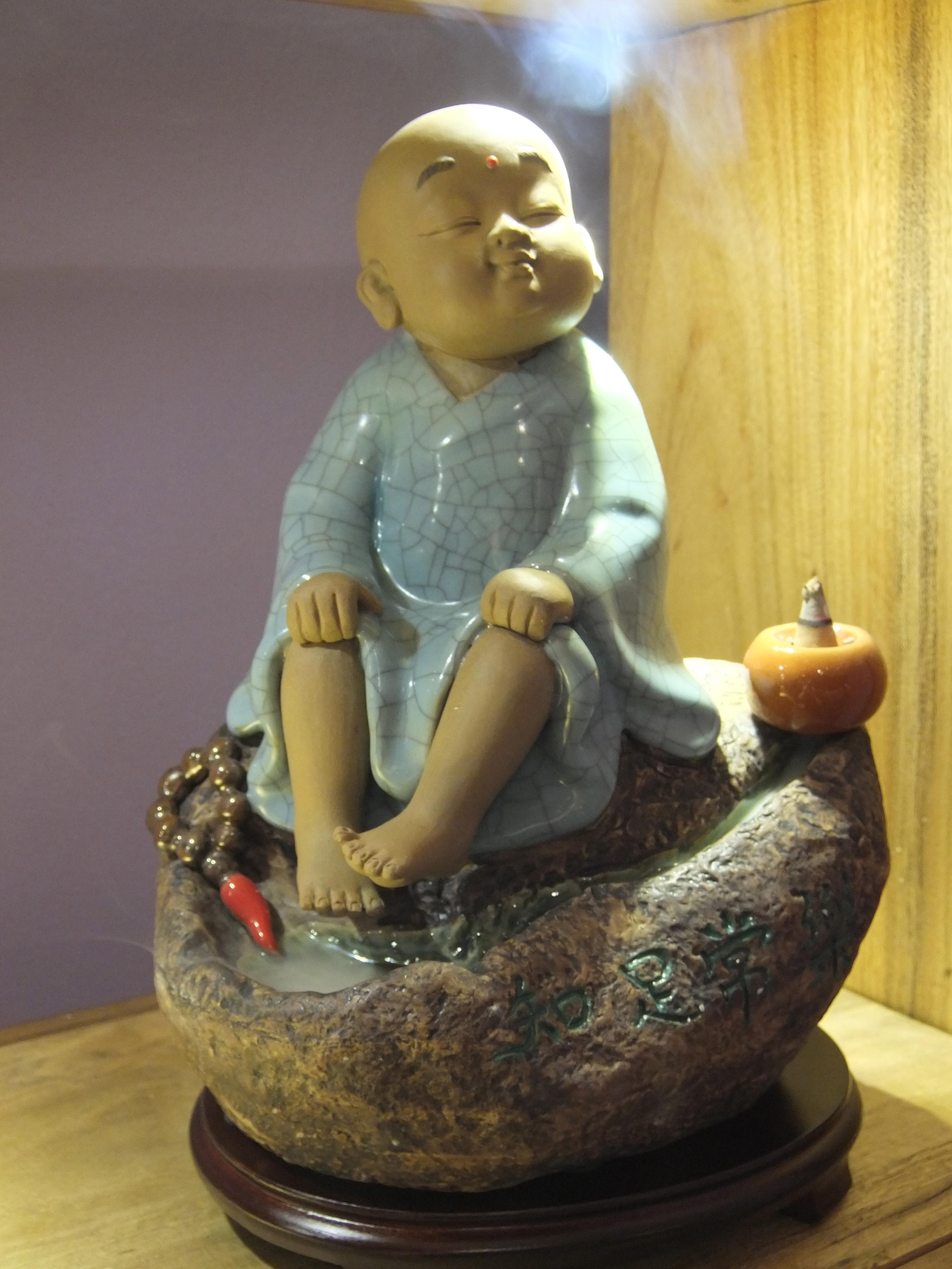 Incense Monk Holder