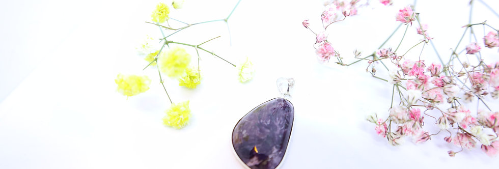 Charoite Crystal Pendant 03