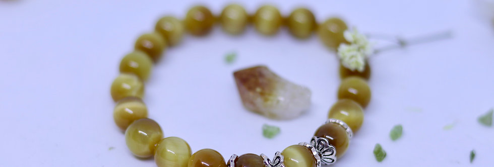 Golden Tiger Eye Bracelet 01