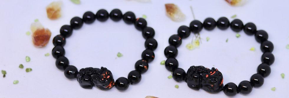 Blessed Black Obsidian Pi Siew 10m