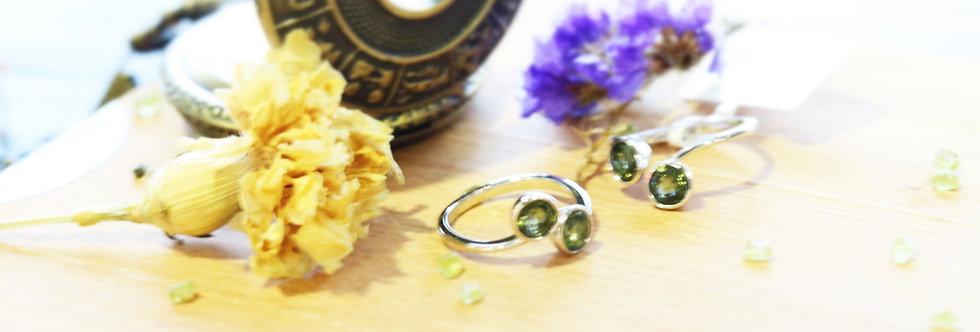 Moldavite Ring (Eternal Love)
