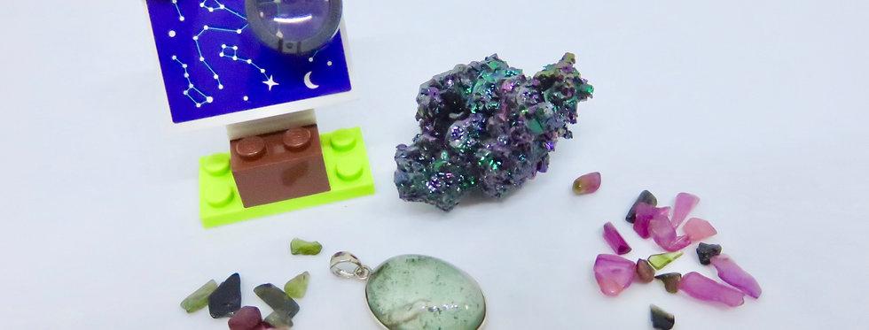 Green Chlorite Pendant 01