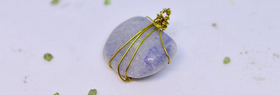 Blue Agate Crystal 01