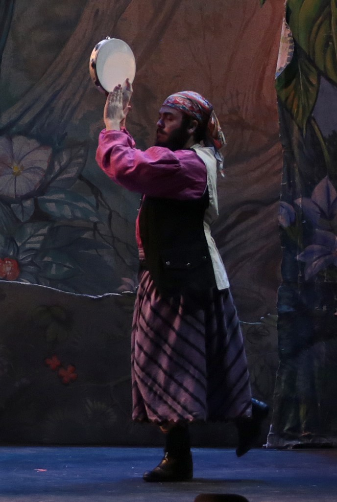 """""""Peter Pan"""" as Starkey"""