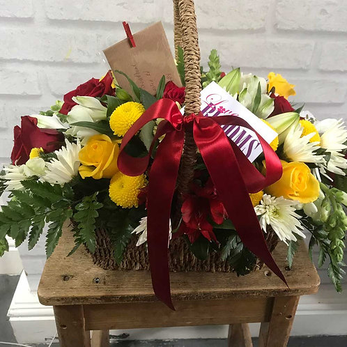 Basket – Funeral Tribute