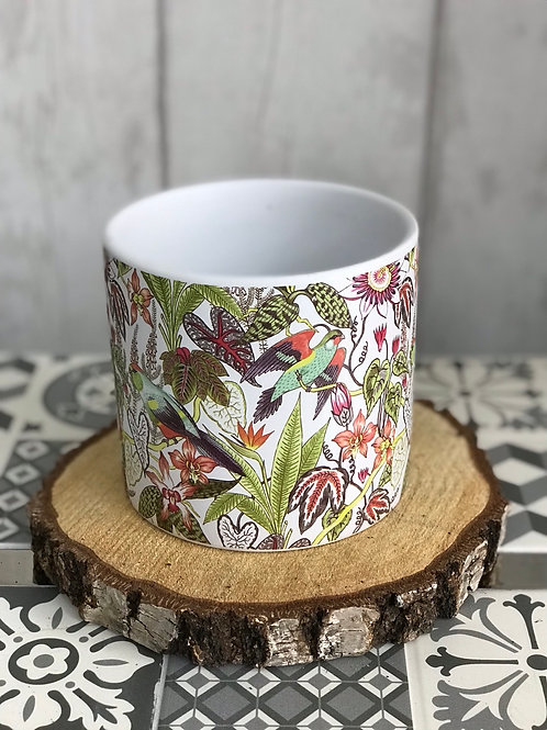 Medium Parakeets plant pot