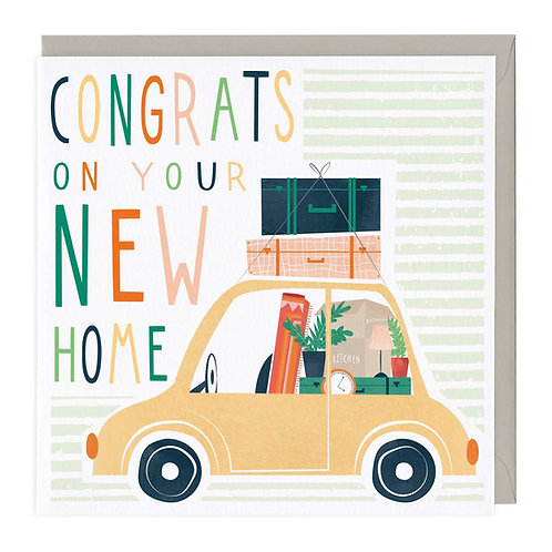 New Home Blank  card