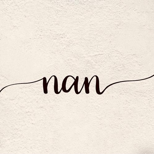 NAN (Letter Tribute)