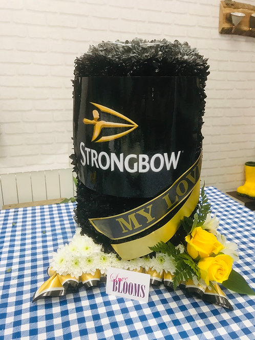 Strongbow can