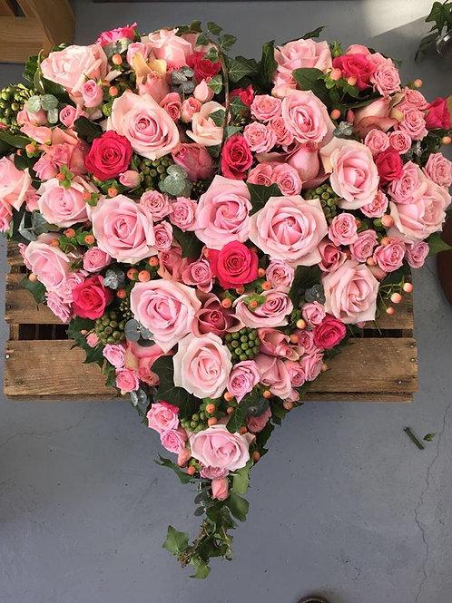 Rose & Berry Heart