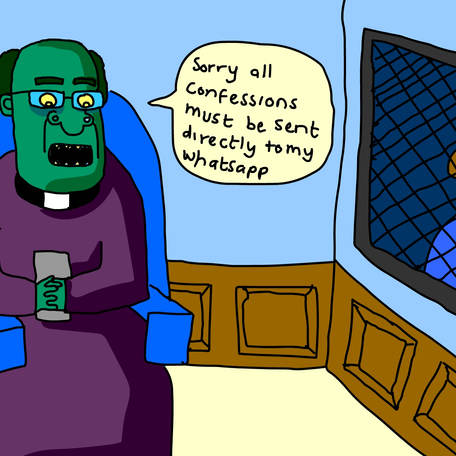 zombie church confession
