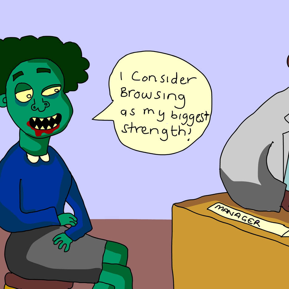 Zombie job interview