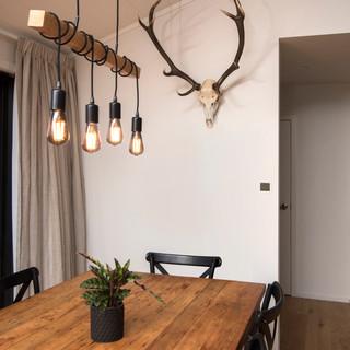 Black Beauty Dining Room