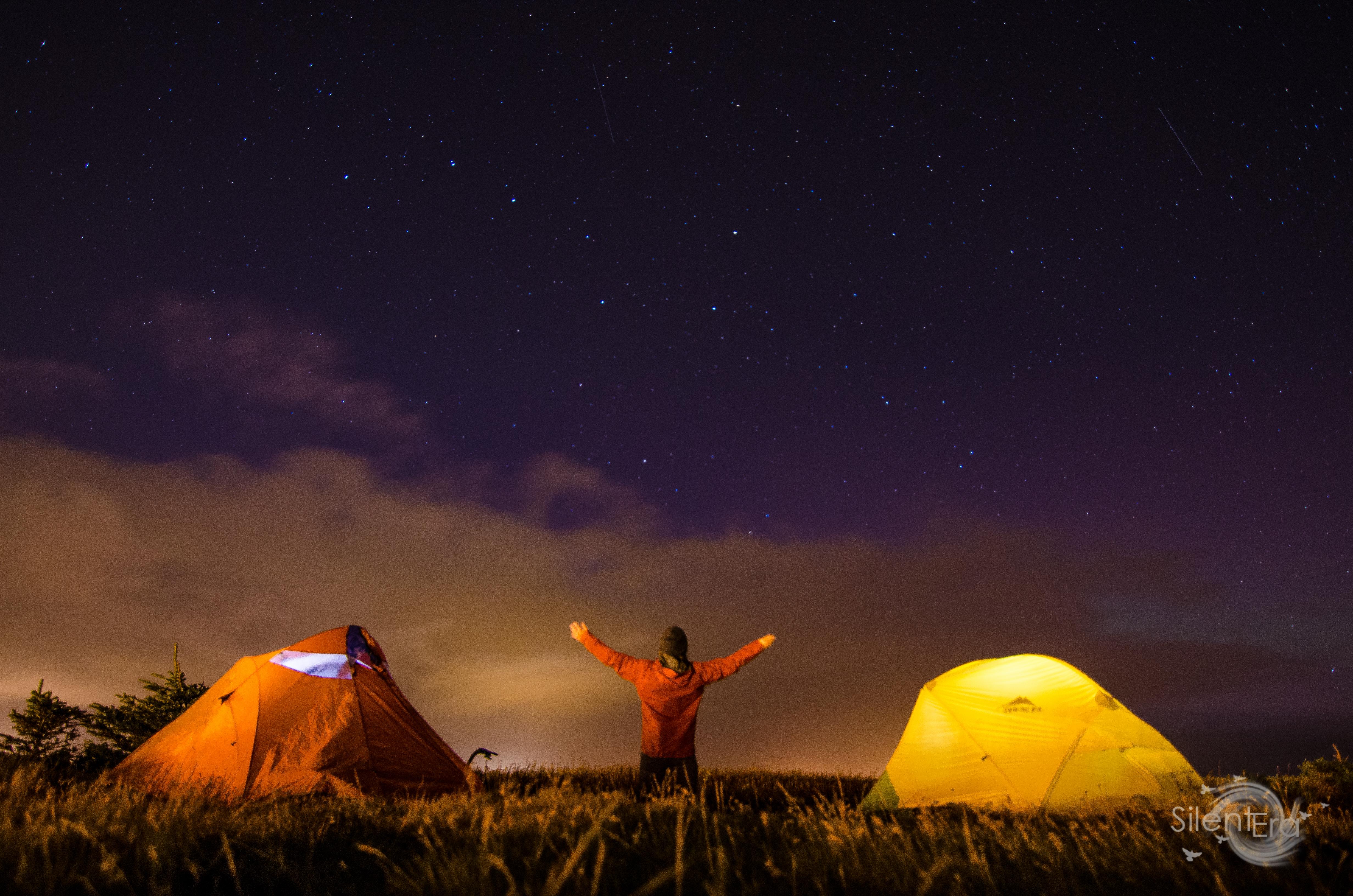 Jeremy Enns Keflavik Night Camping