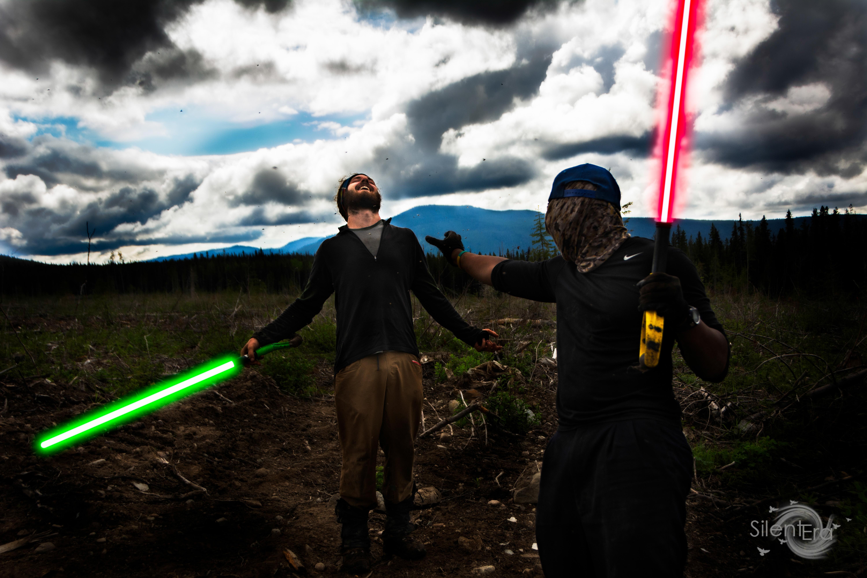 Tree Planting Star Wars Choke