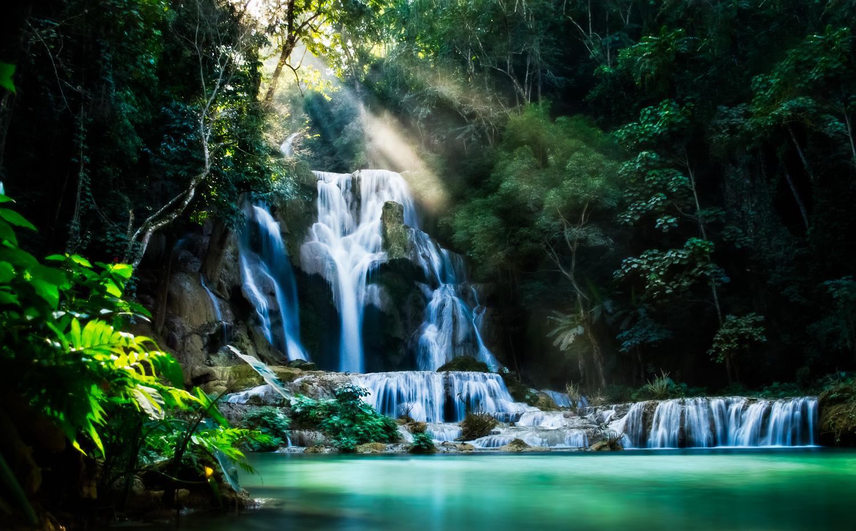 Kuang Si Waterfall Luang Praban