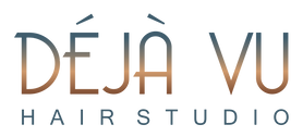Deja Vu Hair Studio Final Logo Text (Tra
