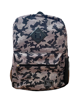 Camo/Gray Backpack
