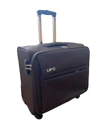 Carry-On Lightweight Spinner with TSA Lock Under Seat Luggage - Dark Brown