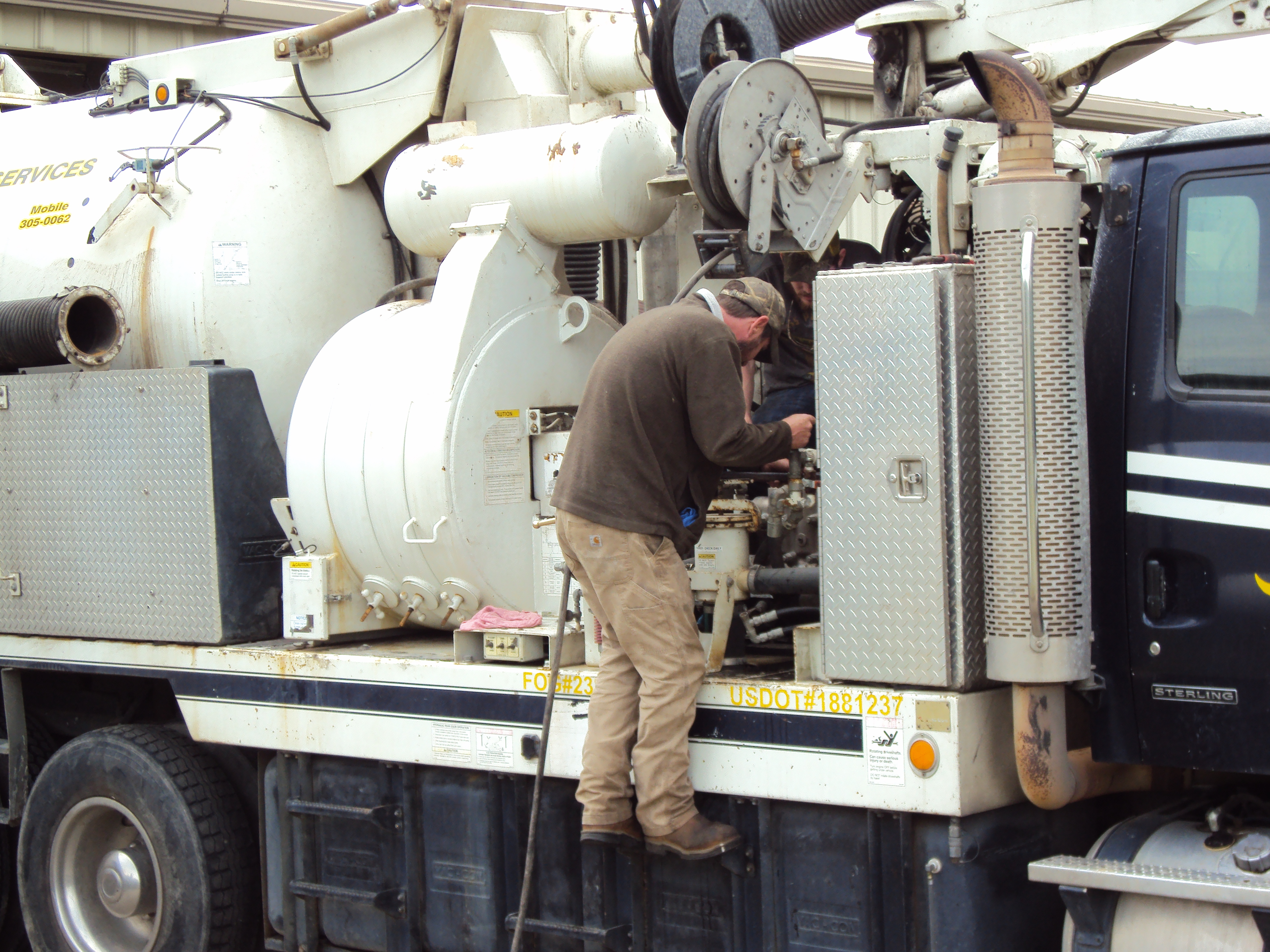We work on all types of equipment