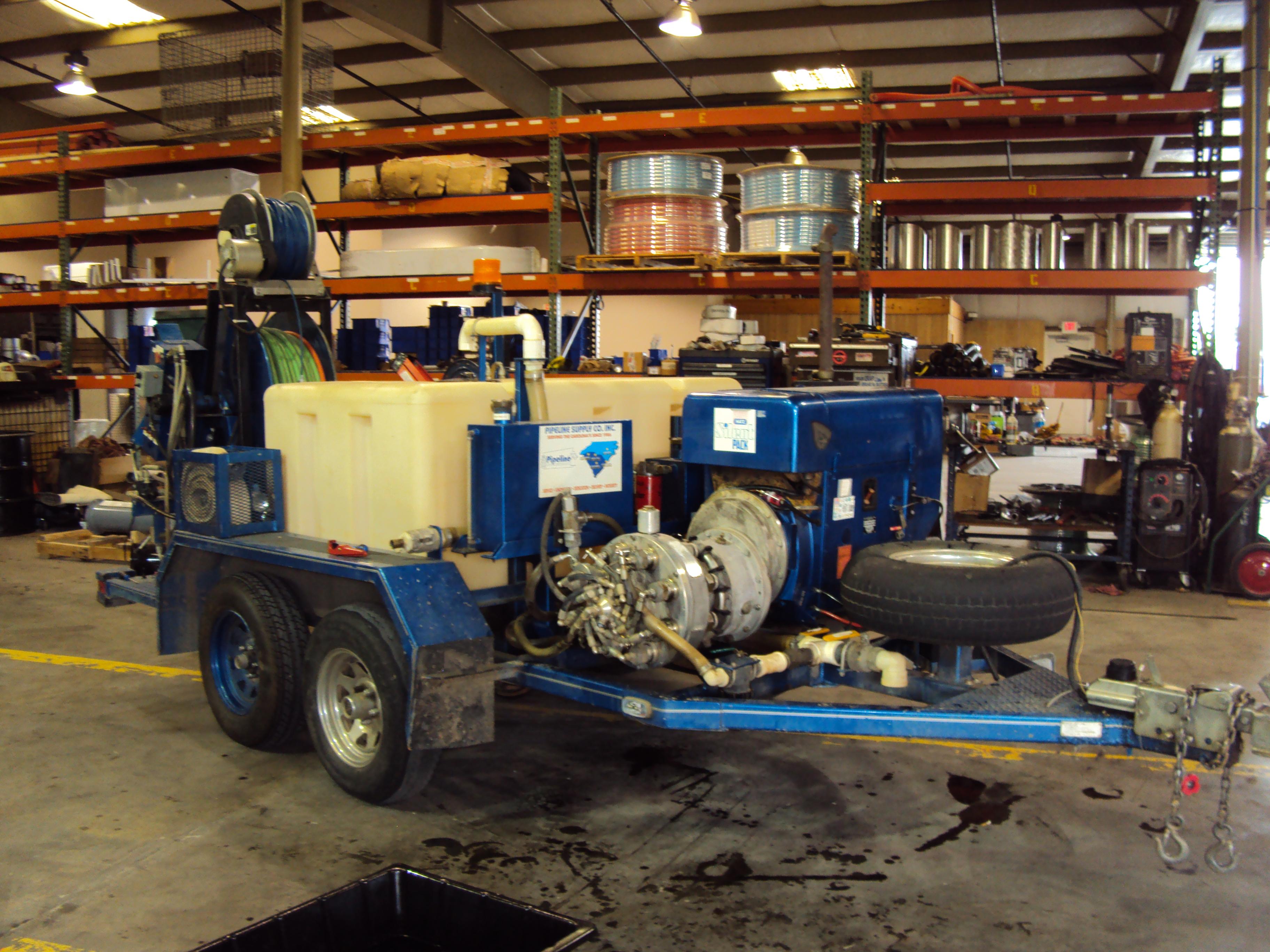 BEFORE Harben Repair and Cleanup