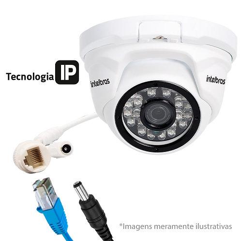 Câmera IP Dome Infravermelho Intelbras VIP 1120 D Lente 3,6mm