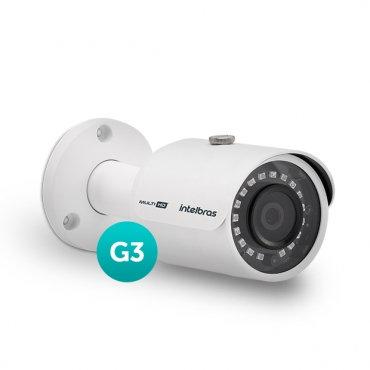 Câmera Infravermelho Multi HD 4 em 1 Intelbras VHD 3230 B G3 Full HD