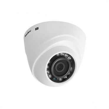 Câmera Dome Infravermelho Multi HD 4 em 1 Intelbras VHD 1010 D G3 HD 720p 3,6mm