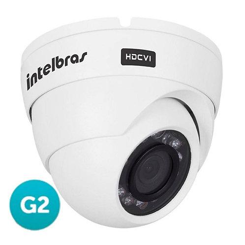 Câmera Dome Alta Resolução Intelbras Hdcvi Vhd 3120 D G2