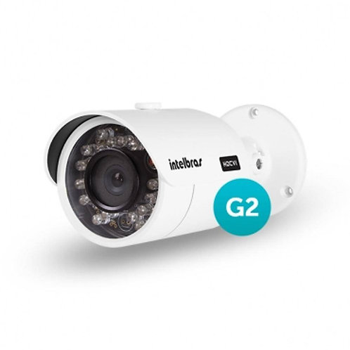 Camera Infra Red Vhd 3130 B Geração 2 Ir 30 2,8mm Hdcvi Intelbras