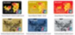 Thẻ UnionPay tại các Ngân hàng Việt Nam.