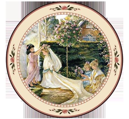 Garden Wedding (Plate)