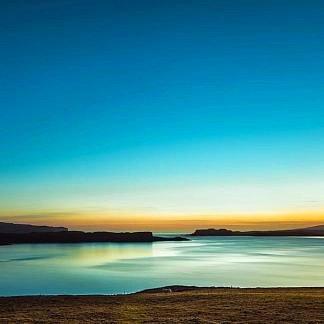 Serenity Loch Harport by Lynne Douglas