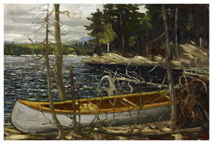 The Canoe by Tom Thomson