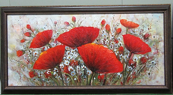 Sunny Day-Poppies