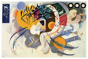 Courbe Dominante by Kandinski