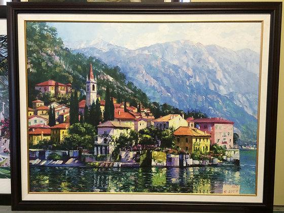 Reflections of Lake Como