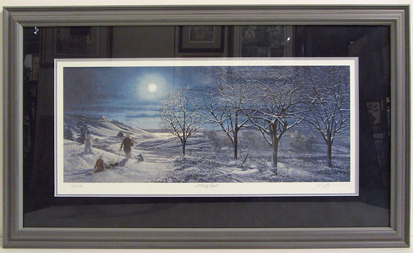 A Frosty Night - James Lumbers