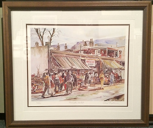 Kensington Market - Limited edition print