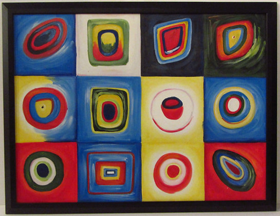 Kandinsky -Original Oil on Canvas